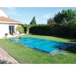 bache à barres piscine