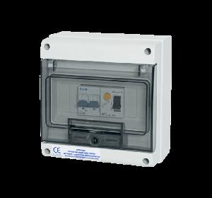 coffret electrique de protection pompe chaleur piscine 20A monophasé