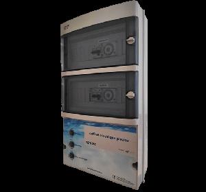 Coffret de filtration + Projecteurs 600 W + prise balai + disjoncteur 6.3-10 A