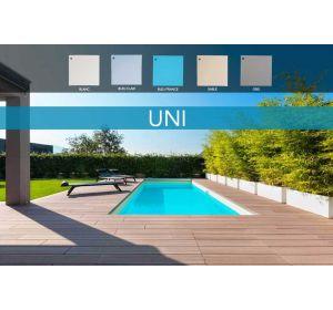 liner uni 75/100e pour piscine
