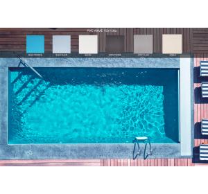 PVC armé 150/100e pour piscine