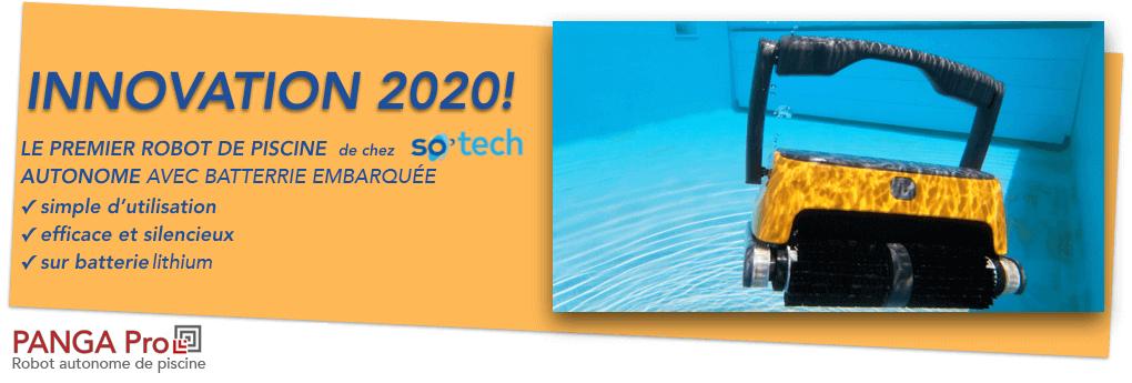 robot piscine autonome sans cable sur batterie